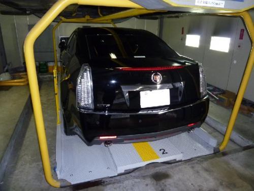 パレット幅拡張後の駐車車両一例