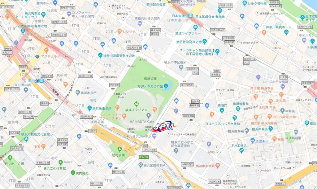 横浜スタジアム 中華街